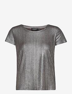 SLMieko T-shirt SS - t-shirty - silver