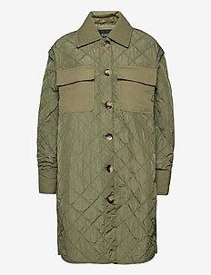 SLUmi Coat - quilted jackets - olivine