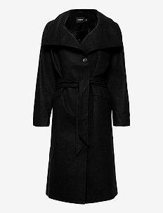 SLTomorrow Coat - ullkåper - black