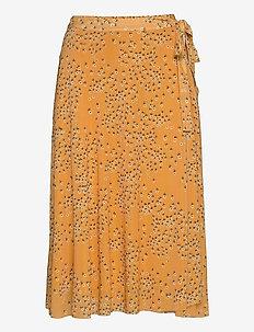 Katrina Skirt - kääri hameet - golden nugget small flower