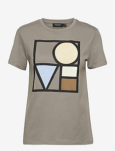 SLBo T-shirt SS - t-shirts - brushed nickel