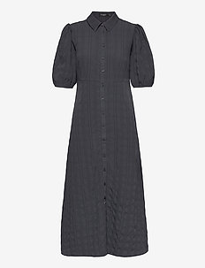 SLBrickle Shirt Dress SS - blousejurken - india ink