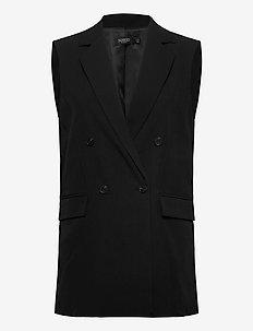 SLIlu Suiting Waistcoat - blezery - black