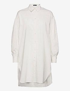SLReitz Arcy Tunic LS - tunics - whisper white