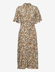 SLIndiana Rafina Shirt Dress SS - sommerkjoler - multifloral print ermine
