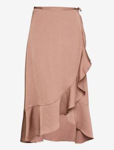 SLKarven Skirt - kääri hameet - brownie