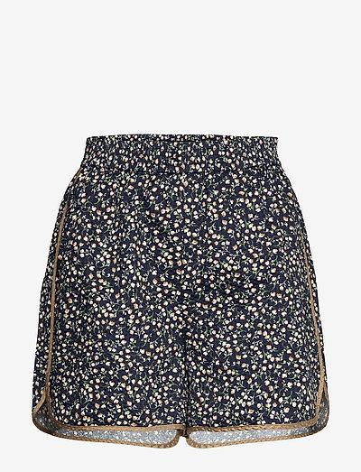 SLBanks Shorts - casual shorts - viol print parisian night
