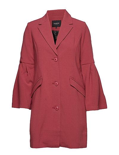 Tinna Coat - DRY ROSE