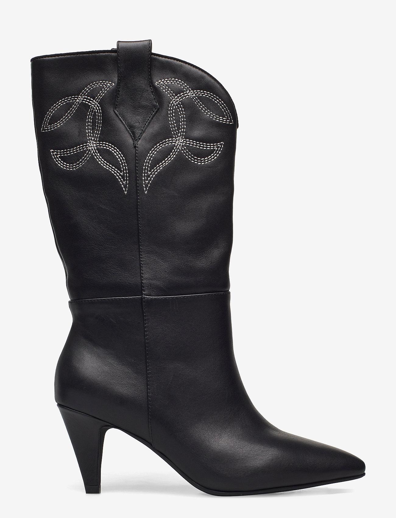 Sofie Schnoor - Boot 7 cm - lange laarzen - black - 1