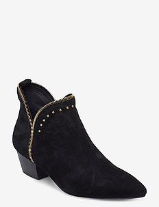 Boot 4,5 cm - ankle boots with heel - black