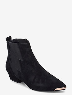 Boot 3,5 cm - ankle boots with heel - black