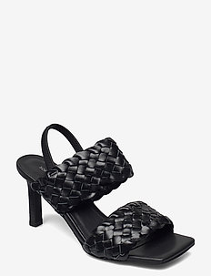 Stiletto 8 CM - højhælede sandaler - black