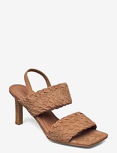 Stiletto 8 CM - højhælede sandaler - tan