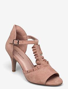 Shoe - sandalen met hak - light rose