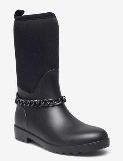 Rubberboot - gummistøvler - black