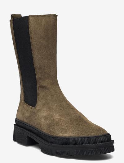 Boot - chelsea støvler - dusty green