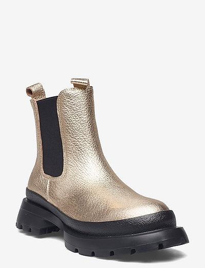 Boot - chelsea støvler - gold
