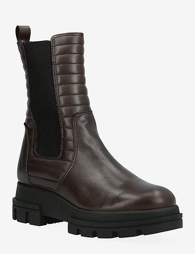 Boot - chelsea støvler - dark brown