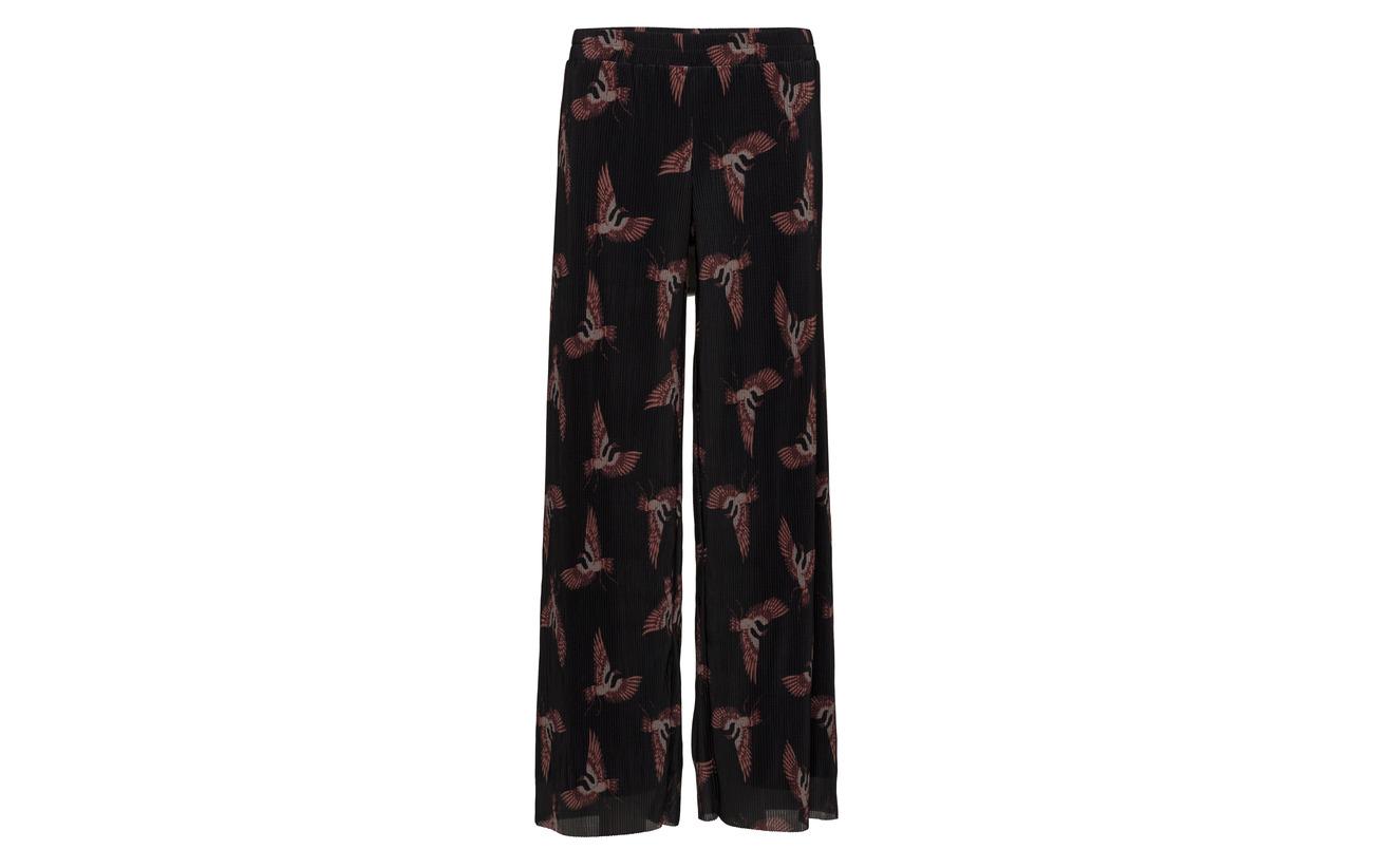 Elastane 95 Pants Sofie Black Schnoor Polyester 5 8YxqTR
