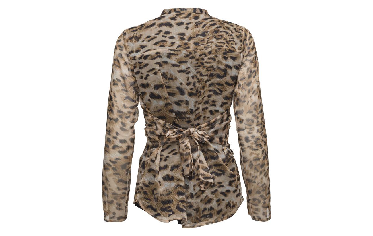 Sofie Leopard Shirt Schnoor Polyester 100 rArqSLO
