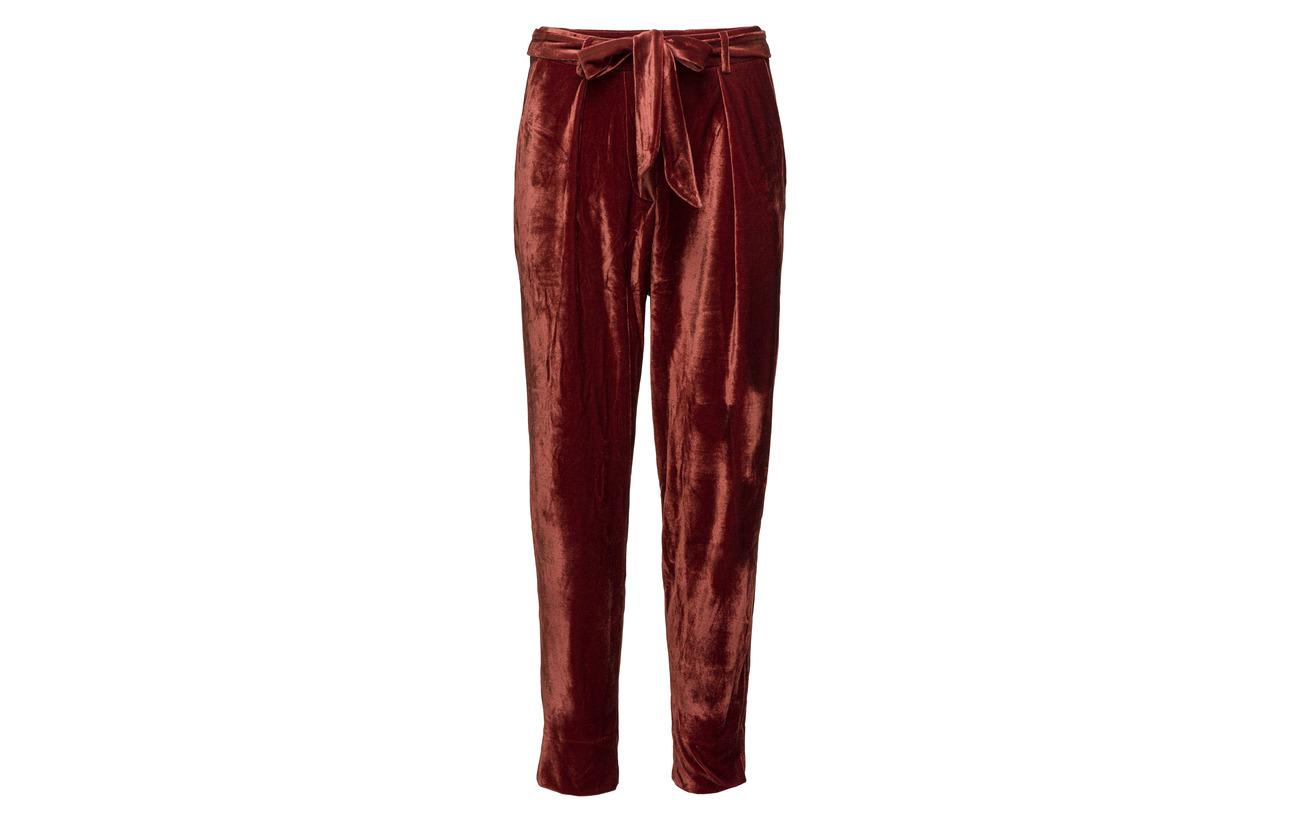 Schnoor Pants Polyester 95 5 Sofie Elastane Burgundy Dark TqzAdS