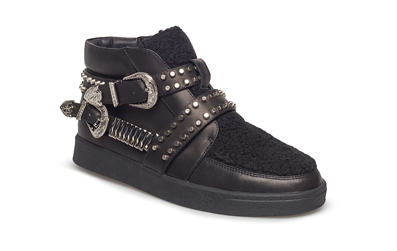 1d2047544969 Boot Loafer Fur And Leather (Black) (£110) - Sofie Schnoor -