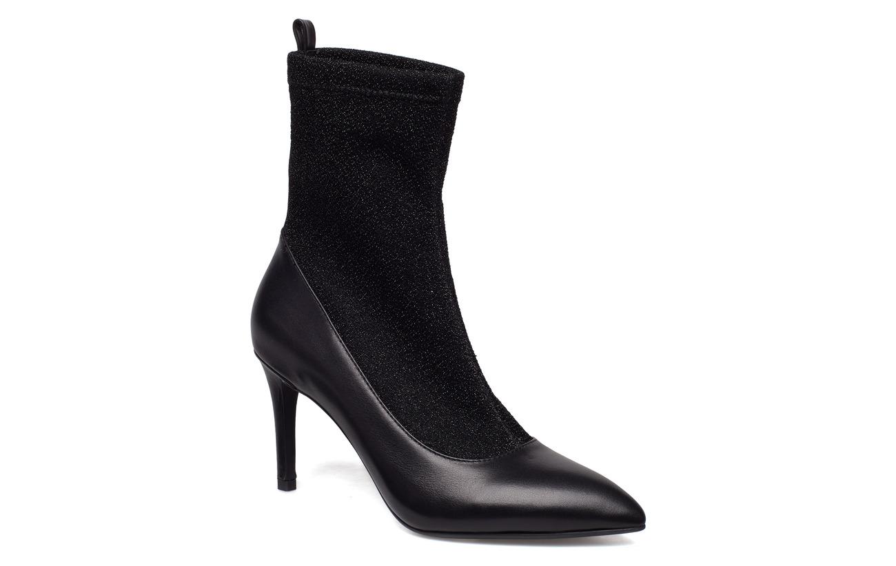 Sofie Schnoor Boot high heel sock - BLACK