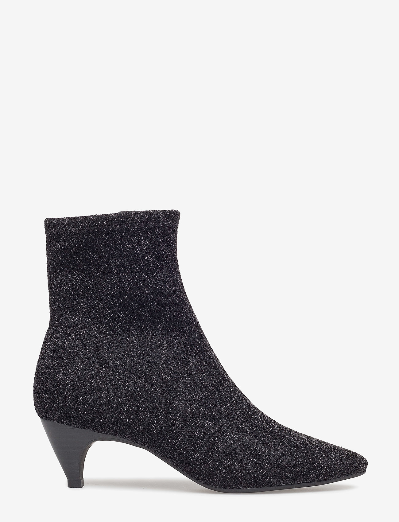 Sofie Schnoor - Boot high textile - ankelstøvler med hæl - black - 1
