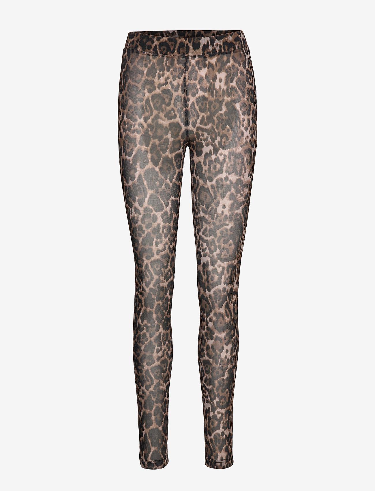 Sofie Schnoor - Leggings - leggings - light brown leopard - 0