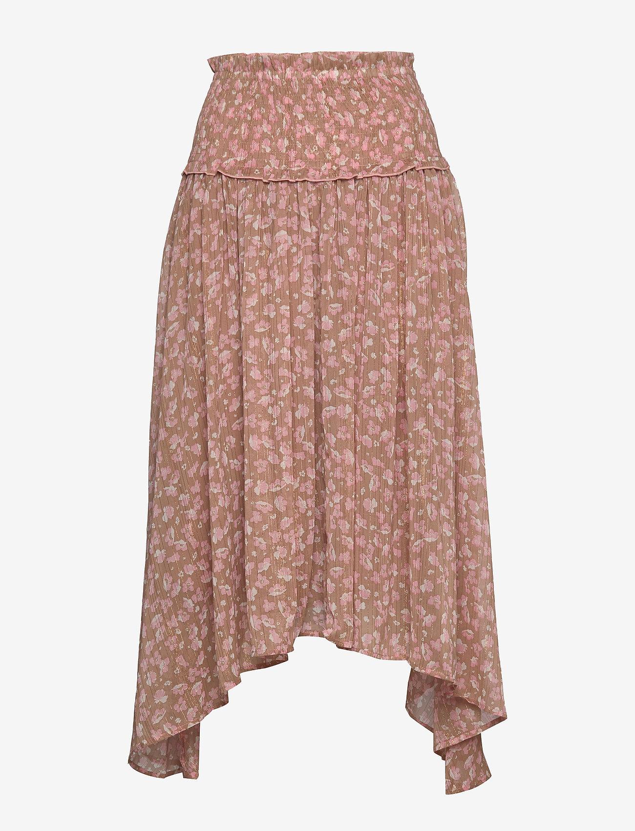 Sofie Schnoor - Skirt - midinederdele - camel - 0