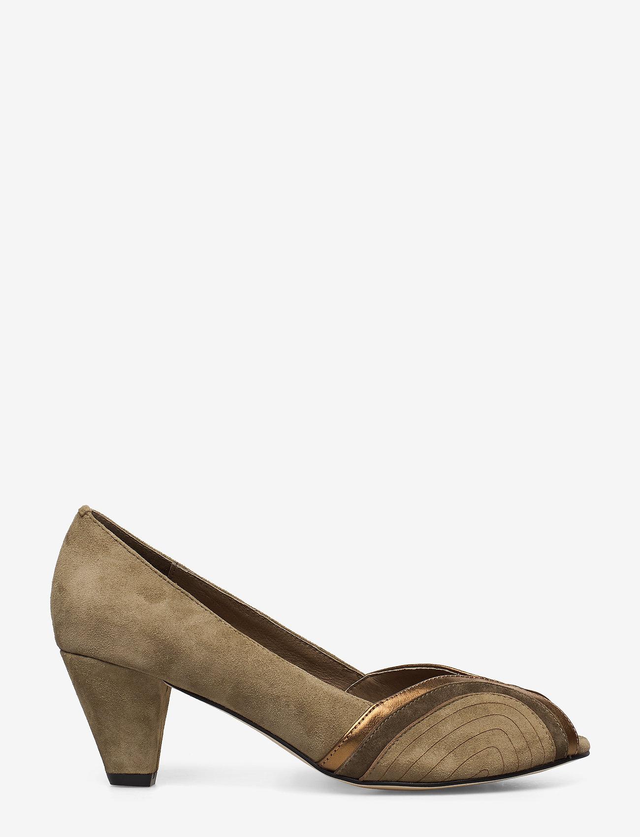 Sofie Schnoor - Shoe - peeptoes - green - 1