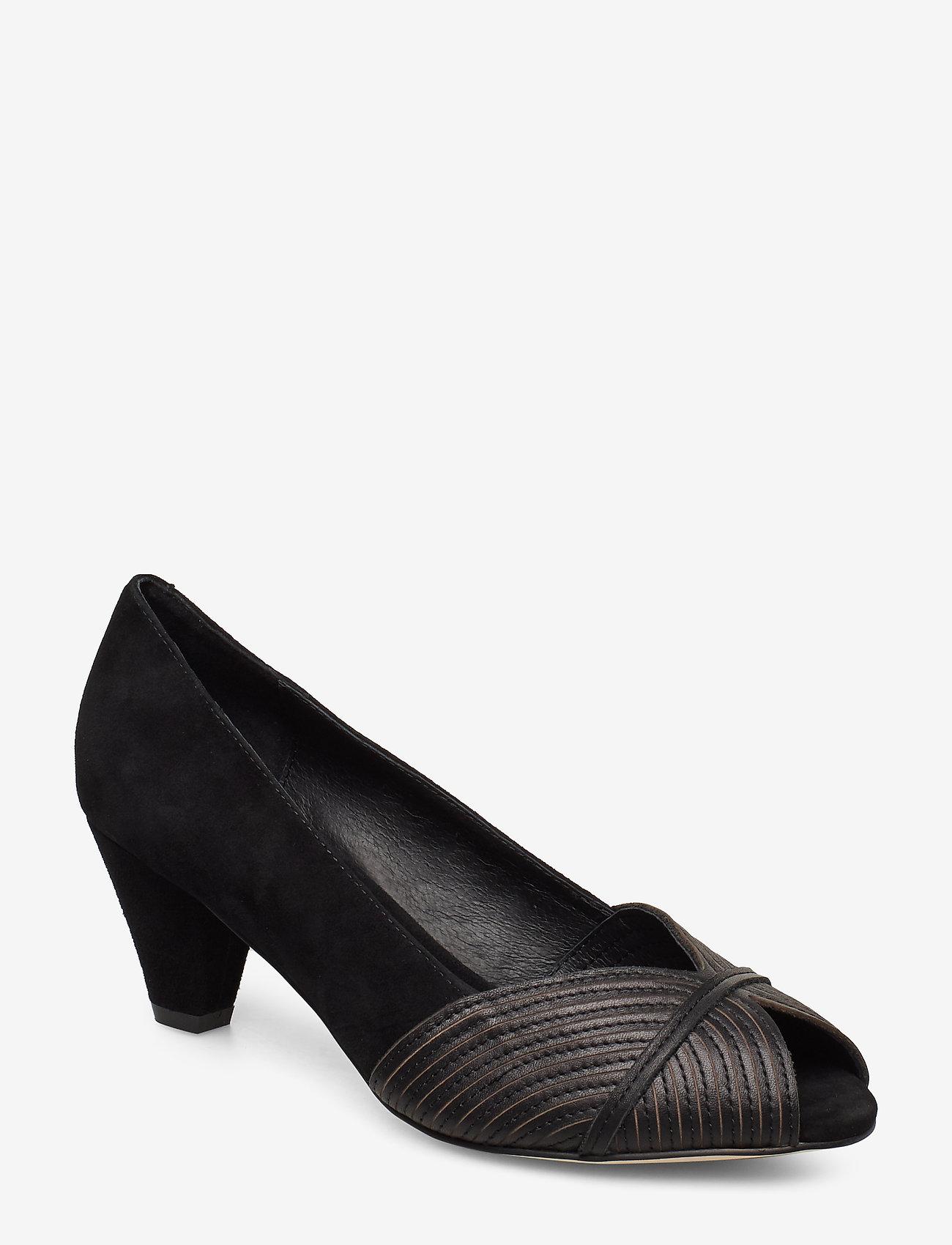 Sofie Schnoor - Shoe - escarpins à bout ouvert - black - 0