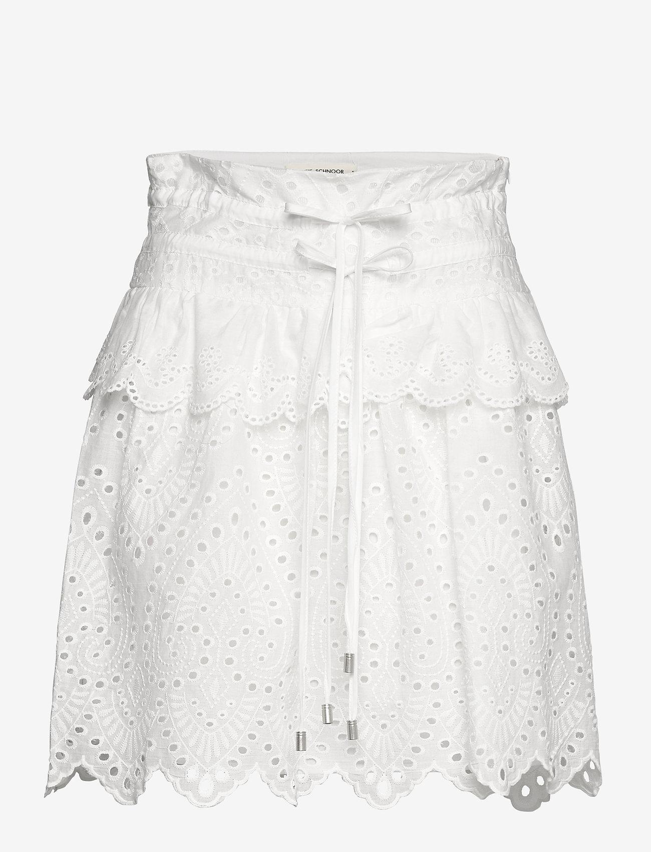 Sofie Schnoor - Skirt - midinederdele - white - 0