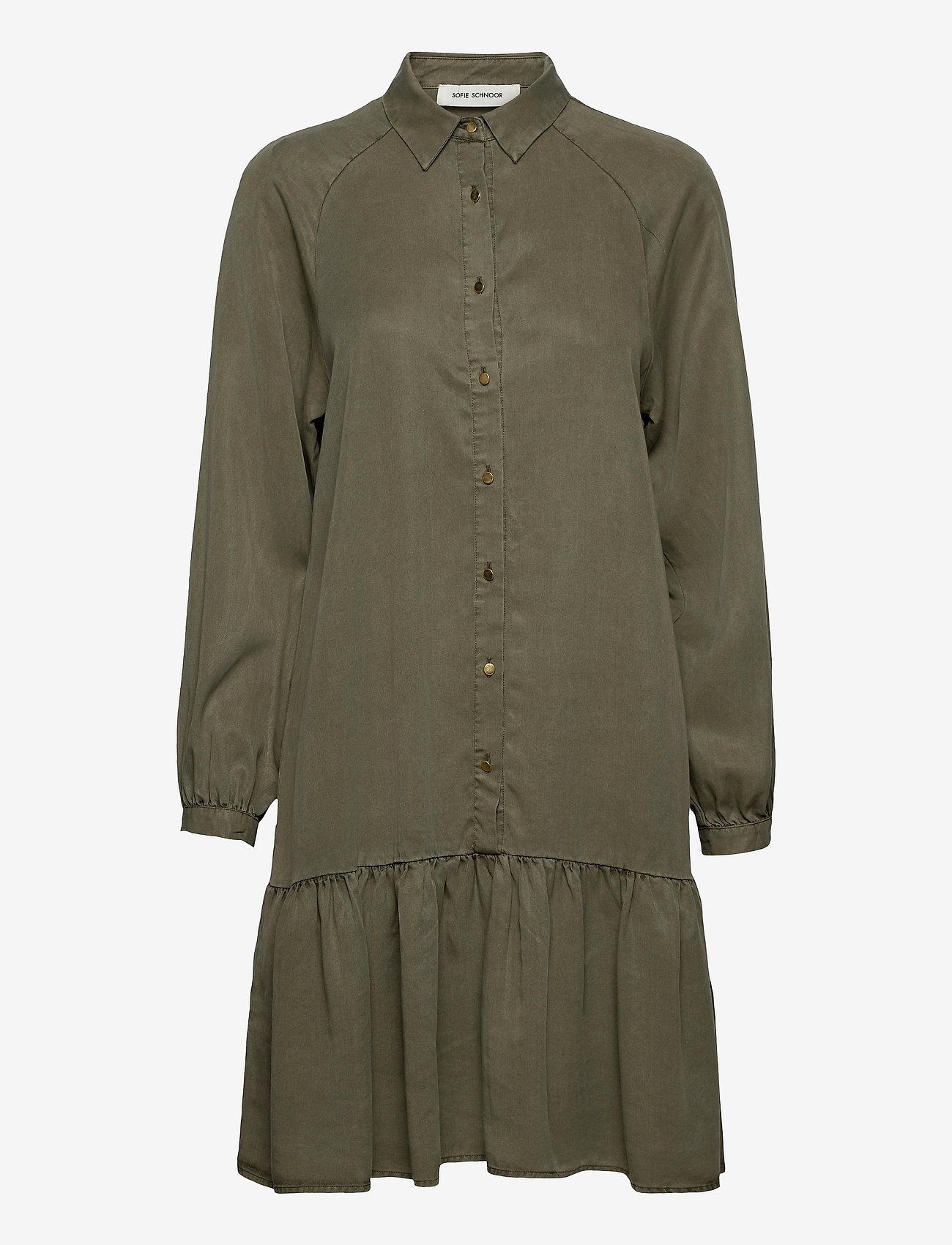 Sofie Schnoor - Dress - sommerkjoler - army green - 0