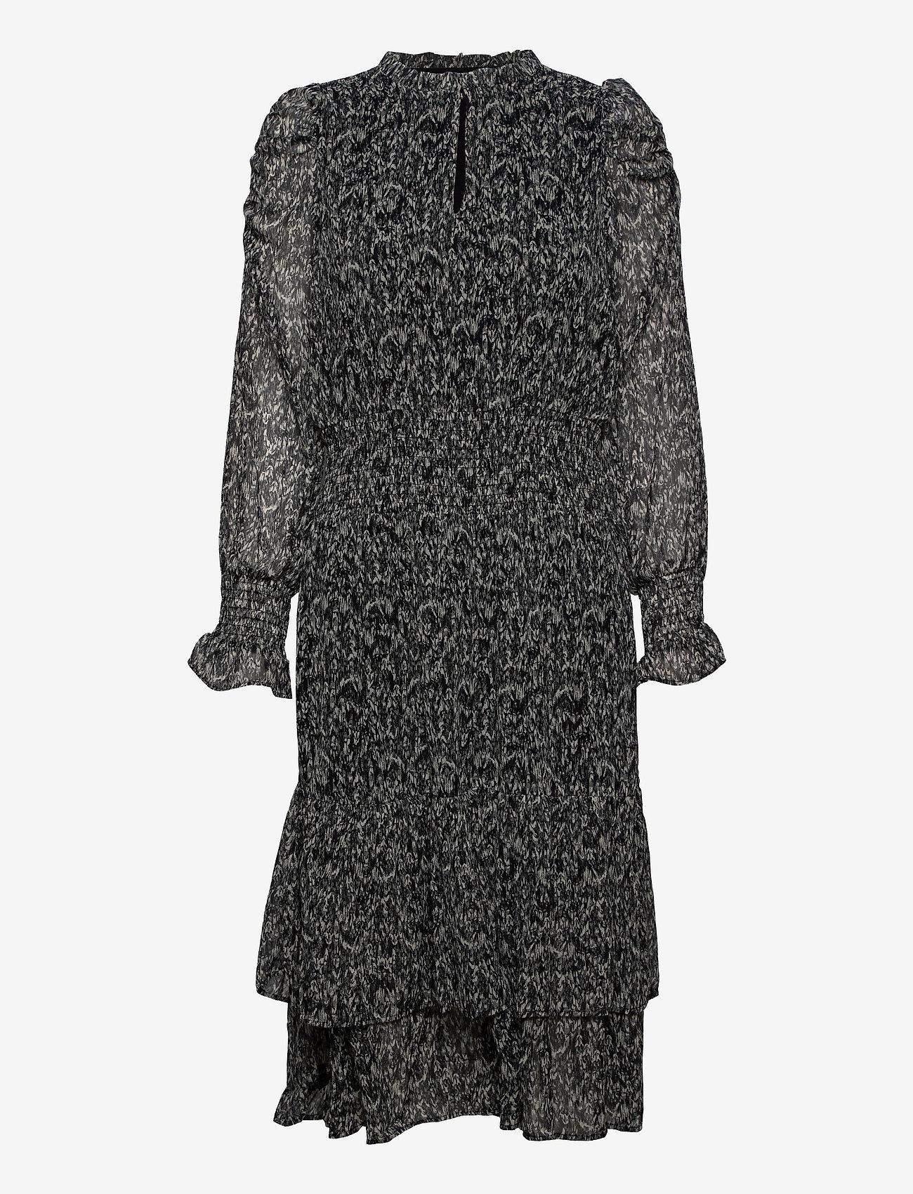 Sofie Schnoor - Dress - sommerkjoler - black - 0