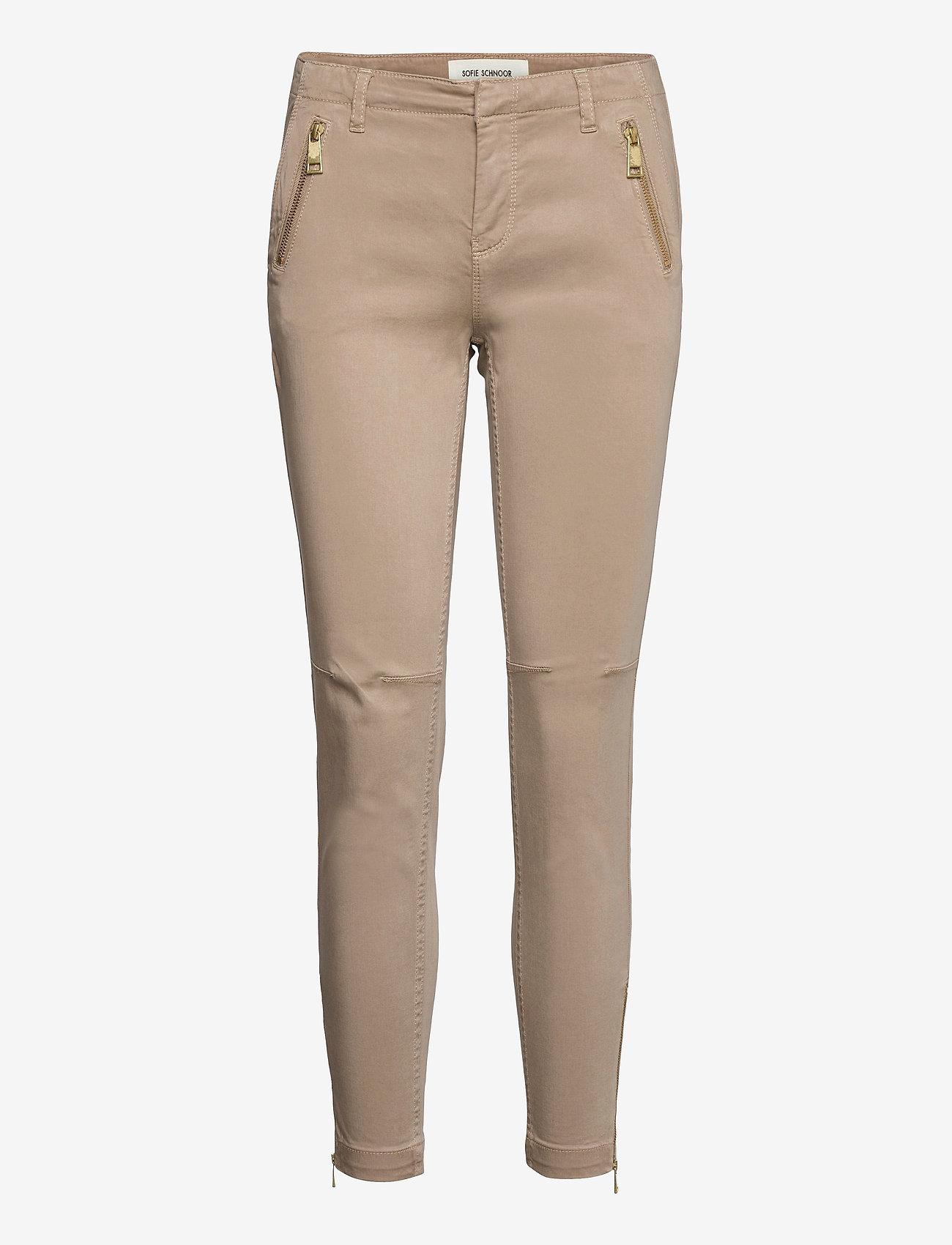 Sofie Schnoor - Pants - slim fit bukser - sand - 0