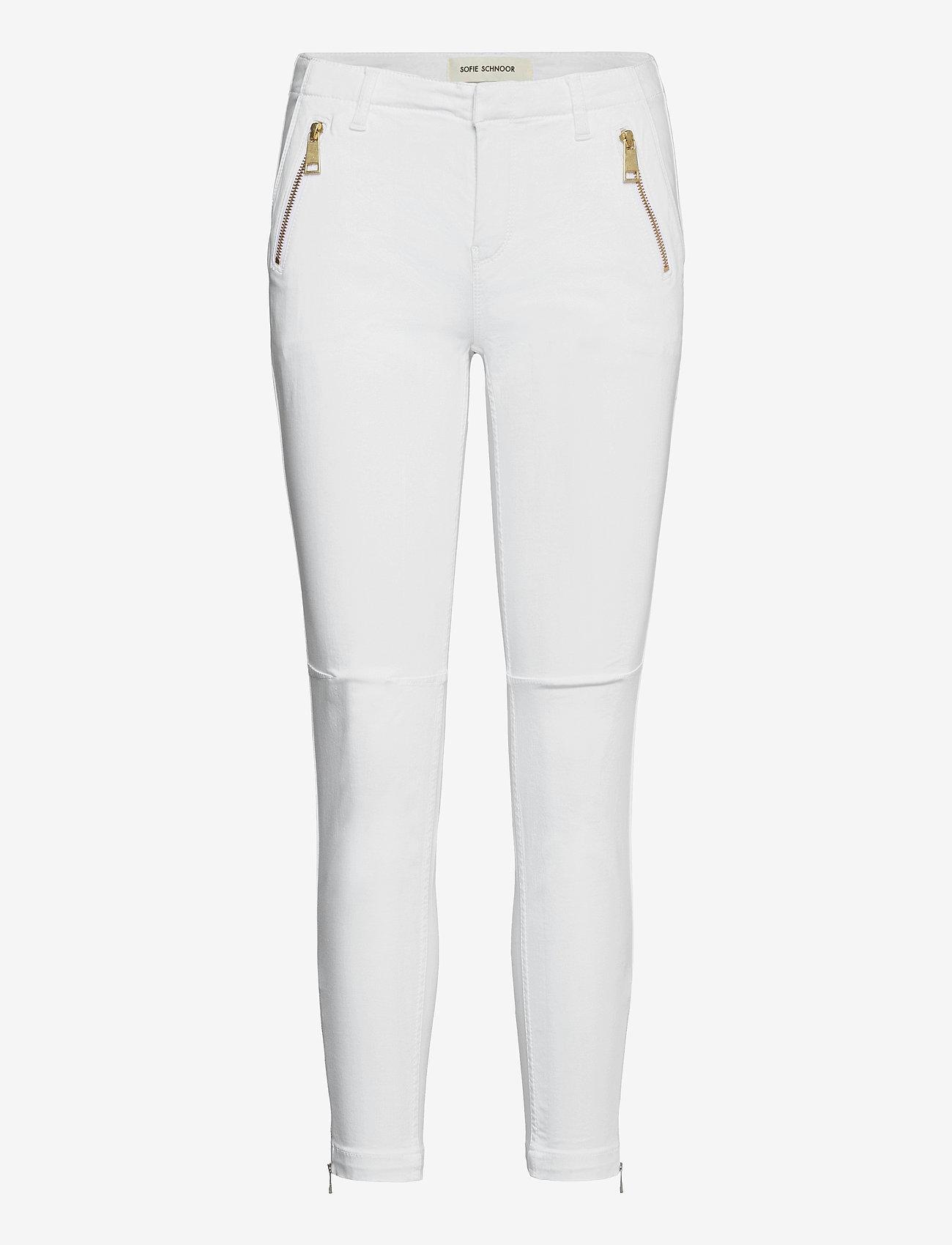 Sofie Schnoor - Pants - slim fit bukser - white - 0