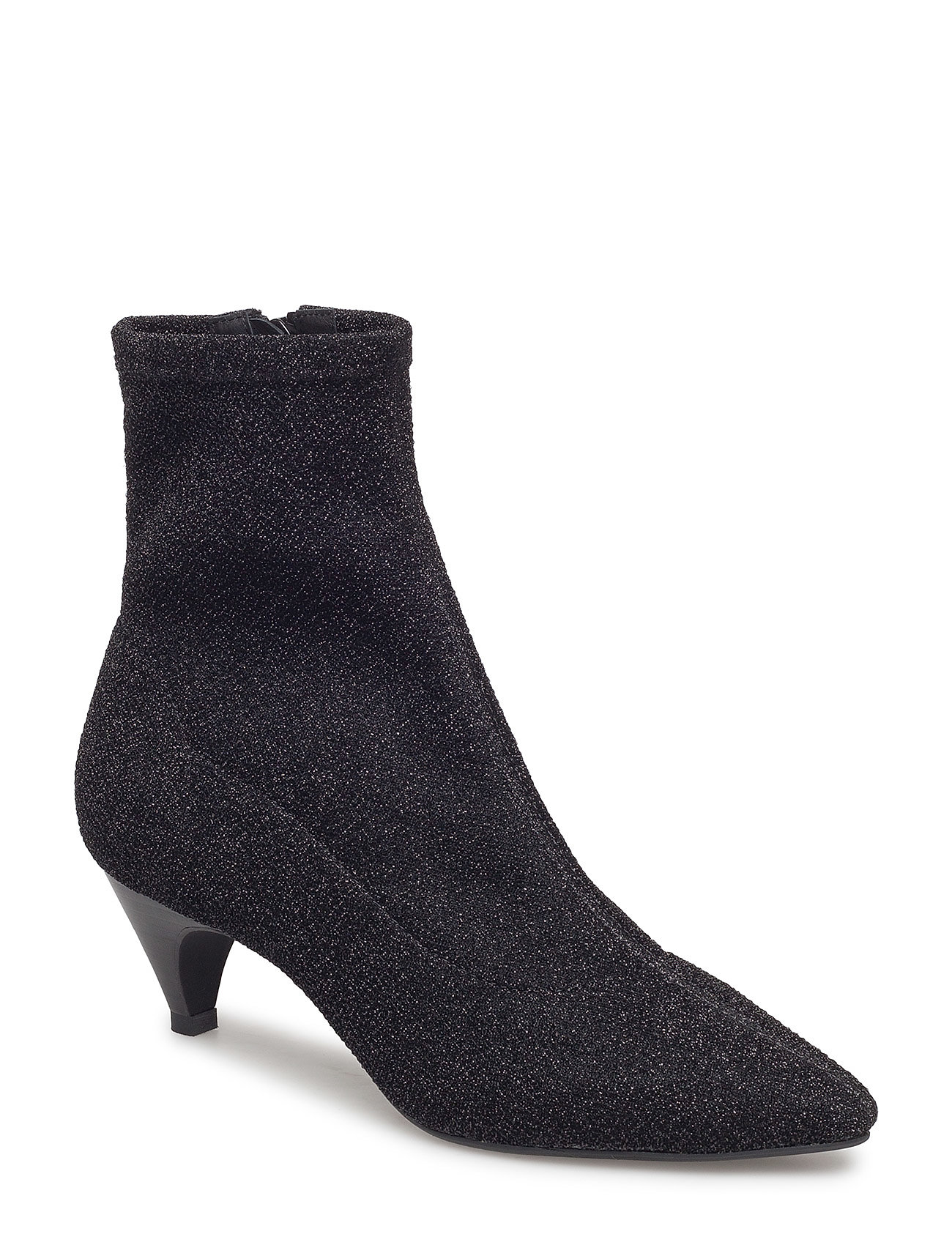 Image of Boot High Textile Shoes Boots Ankle Boots Ankle Boots With Heel Sort Sofie Schnoor (3067517865)
