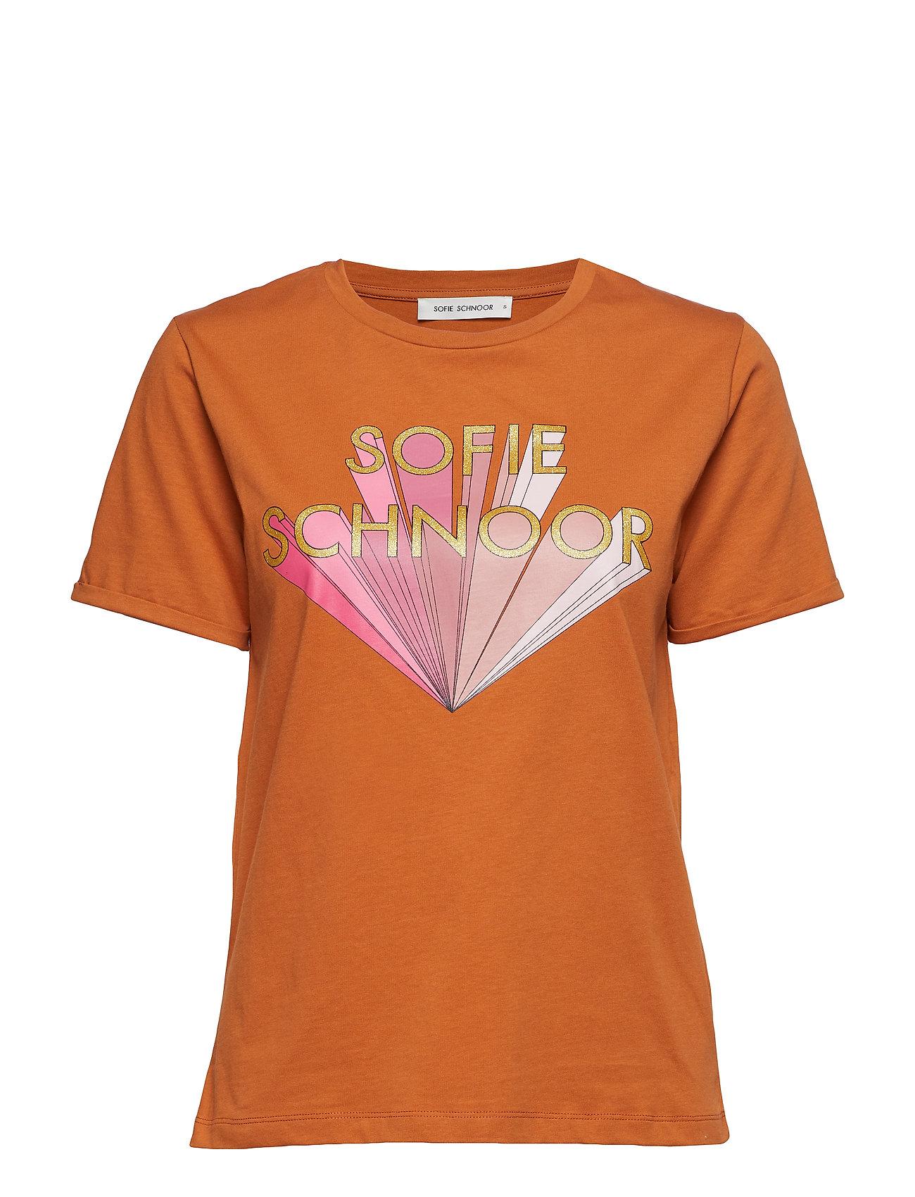 T Shirt T shirt Top Orange Sofie Schnoor