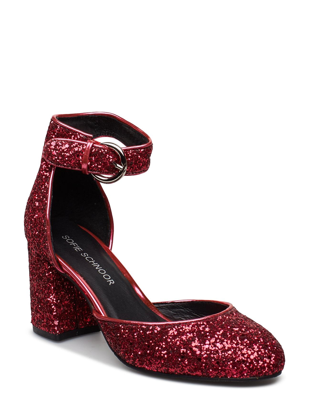 Med hael Røde sko til dame, sammenlign priser og kjøp på nett