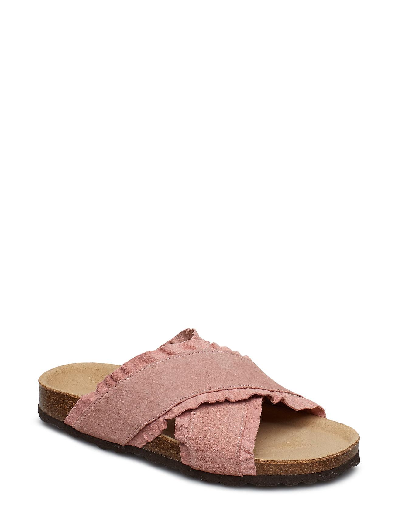 Slipper Flade Sandaler Sort SOFIE SCHNOOR