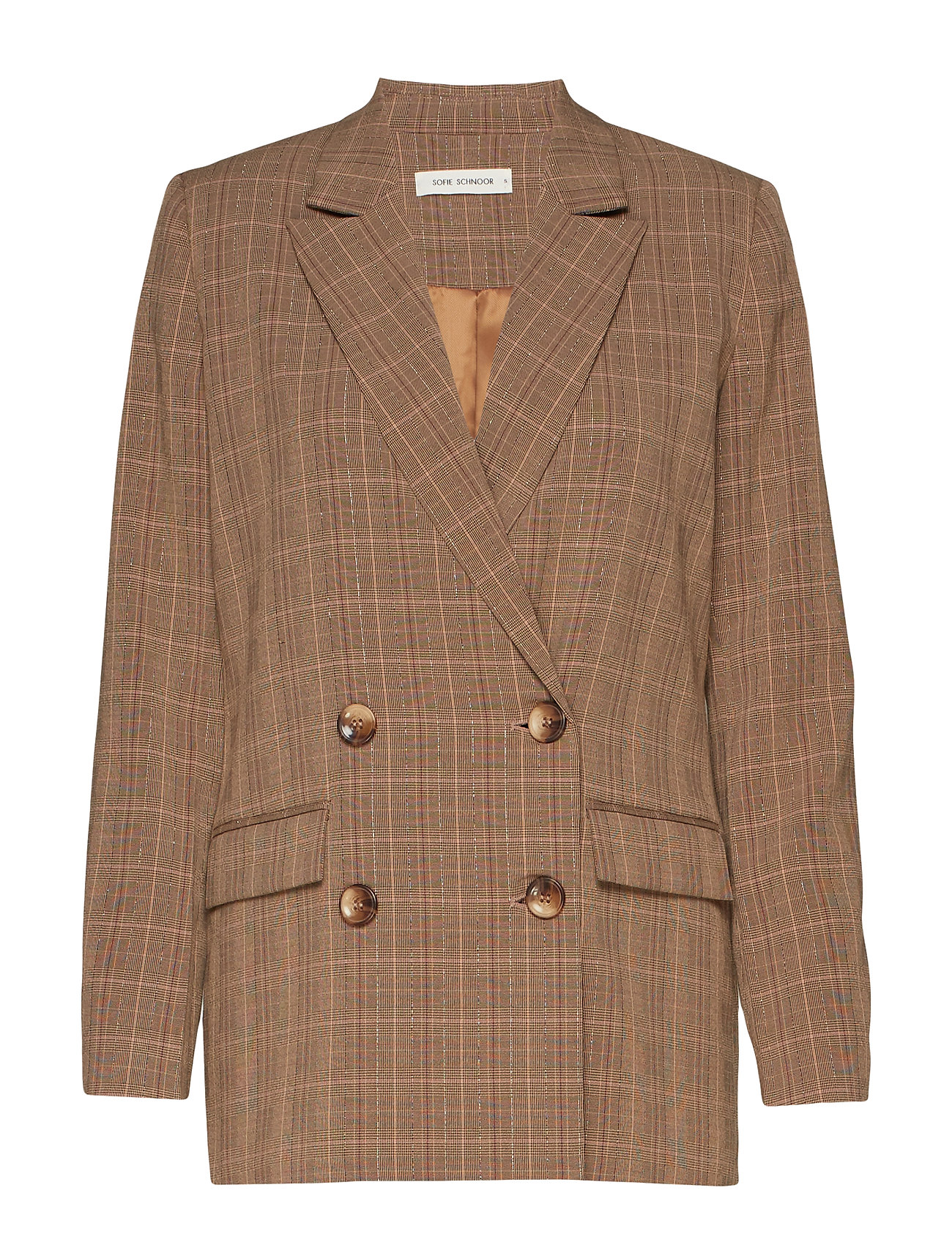 Sofie Schnoor Blazer - BROWN CHECK