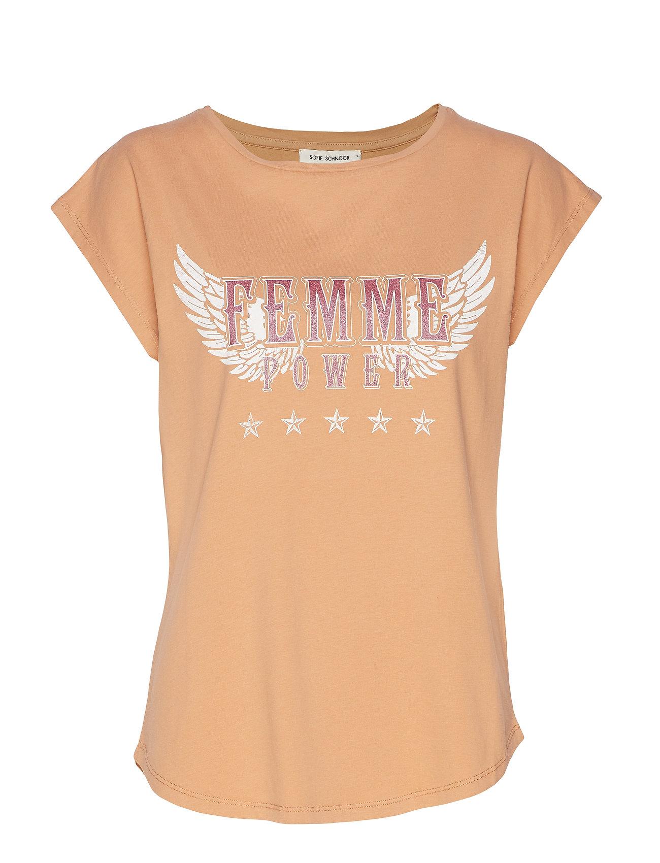 Sofie Schnoor T-shirt - CAMEL