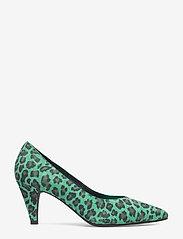 Sofie Schnoor - shoe stiletto leo - escarpins classiques - green leopard - 1