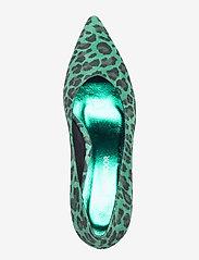 Sofie Schnoor - shoe stiletto leo - escarpins classiques - green leopard - 3