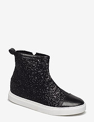Sofie Schnoor - Sneaker high glitter - baskets montantes - black - 0