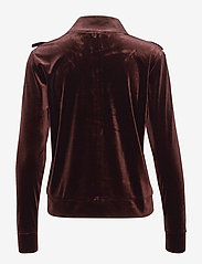 Sofie Schnoor - Bomber - sweatshirts - dark brown - 1