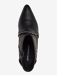 Sofie Schnoor - Boot - ankelstøvler med hæl - black - 3