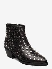Sofie Schnoor - Boot - ankelstøvler med hæl - black - 0