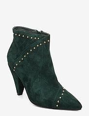 Sofie Schnoor - Boot - ankelstøvler med hæl - dark green - 0